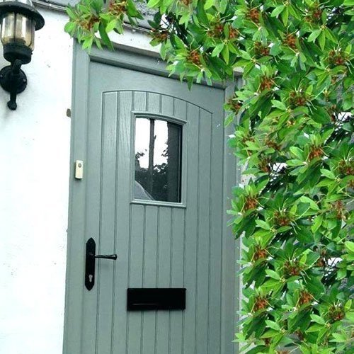 palladio style tongue and groove in green